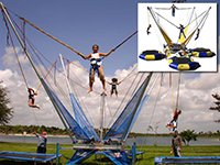 Bungee Trampoline Carnival Rides