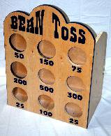 Bean Toss Carnival Game Rentals