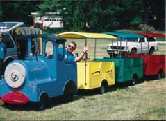 Trackless Train Carnival Rides
