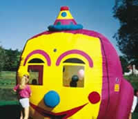 Happy Face Balloon Bounce House Rentals