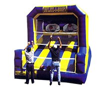 Inflatable Hoops Carnival Game Rentals