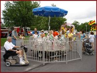 Merry Go Round Carnival Rides