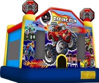 Racing Fun Bounce House Rentals