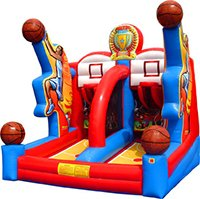 Shooting Stars Basketball Carnival Game Rentals