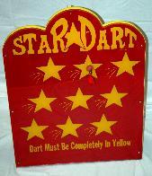 Star Dart Carnival Game Rentals